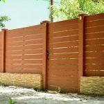 Gard WPC pentru curte sau gradina – solutia ideala pentru protejarea mediului inconjurator!